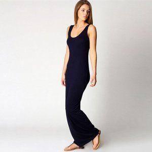 Slim Strap Solid Color Long Dress BOUTIQUE (BFL)